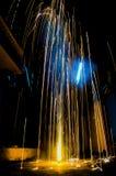 Πυροτέχνημα Diwali στοκ εικόνες με δικαίωμα ελεύθερης χρήσης