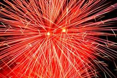 πυροτεχνήματα ανασκόπηση& Στοκ Εικόνες