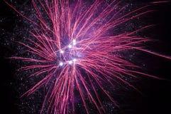 Πυροτεχνήματα διακοπών Στοκ φωτογραφίες με δικαίωμα ελεύθερης χρήσης