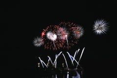 πυροτεχνήματα εορτασμού Στοκ Εικόνα