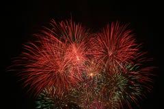 Πυροτεχνήματα εορτασμού Στοκ Φωτογραφία