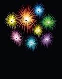 πυροτεχνήματα εορτασμο Στοκ εικόνα με δικαίωμα ελεύθερης χρήσης