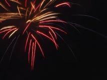 Πυροτεχνήματα ημέρας του Καναδά Στοκ εικόνα με δικαίωμα ελεύθερης χρήσης