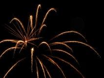 Πυροτεχνήματα ημέρας του Καναδά Στοκ Φωτογραφία