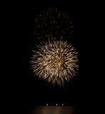 Πυροτεχνήματα ΗΠΑ Στοκ εικόνα με δικαίωμα ελεύθερης χρήσης