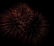 Πυροτεχνήματα ΗΠΑ Στοκ Εικόνα