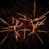 Πυροτεχνήματα ΗΠΑ Στοκ Φωτογραφία