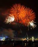 πυροτεχνήματα θεαματικά Στοκ φωτογραφία με δικαίωμα ελεύθερης χρήσης