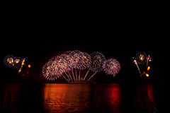 πυροτεχνήματα θεαματικά Στοκ εικόνες με δικαίωμα ελεύθερης χρήσης