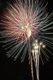 πυροτεχνήματα ι Στοκ εικόνα με δικαίωμα ελεύθερης χρήσης