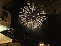 Πυροτεχνήματα νύχτας στοκ εικόνα