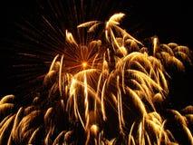 πυροτεχνήματα παρουσία&sigma στοκ φωτογραφία με δικαίωμα ελεύθερης χρήσης