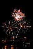 Πυροτεχνήματα που εκρήγνυνται - εικόνα αποθεμάτων Στοκ εικόνες με δικαίωμα ελεύθερης χρήσης