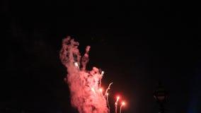 Πυροτεχνήματα στα UNIVERSAL STUDIO Στοκ εικόνες με δικαίωμα ελεύθερης χρήσης