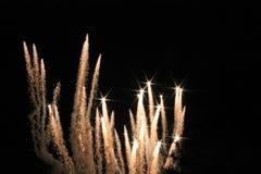 Πυροτεχνήματα στα UNIVERSAL STUDIO Στοκ εικόνα με δικαίωμα ελεύθερης χρήσης
