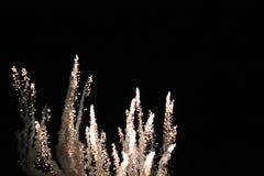 Πυροτεχνήματα στα UNIVERSAL STUDIO Στοκ Εικόνες
