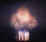 Πυροτεχνήματα στη Μάλτα στοκ εικόνα