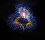 Πυροτεχνήματα στη Μάλτα Στοκ εικόνα με δικαίωμα ελεύθερης χρήσης