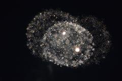 Πυροτεχνήματα στη νύχτα Στοκ Φωτογραφία