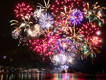 Πυροτεχνήματα στη Φινλανδία Στοκ εικόνες με δικαίωμα ελεύθερης χρήσης