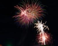 Πυροτεχνήματα στο τελικό κόμμα ΙΙ στοκ φωτογραφία με δικαίωμα ελεύθερης χρήσης