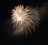 Πυροτεχνήματα στο Reggio Emilia Στοκ Εικόνα