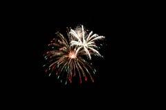 πυροτεχνήματα τέταρτος Ιούλιος Στοκ φωτογραφίες με δικαίωμα ελεύθερης χρήσης