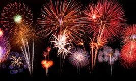 πυροτεχνήματα Ταϊλάνδη Στοκ Εικόνες