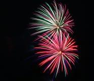 Πυροτεχνήματα την ημέρα του Καναδά σε Stittsville 13 στοκ φωτογραφία