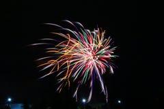 Πυροτεχνήματα την ημέρα του Καναδά σε Stittsville 11 στοκ εικόνες
