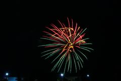 Πυροτεχνήματα την ημέρα του Καναδά σε Stittsville 9 στοκ φωτογραφίες με δικαίωμα ελεύθερης χρήσης