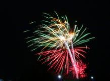 Πυροτεχνήματα την ημέρα του Καναδά σε Stittsville 8 στοκ εικόνες
