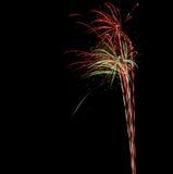 Πυροτεχνήματα της Δρέσδης Στοκ Εικόνες