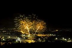 Πυροτεχνήματα της Ταϊλάνδης Στοκ φωτογραφία με δικαίωμα ελεύθερης χρήσης