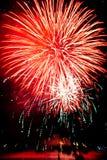 Πυροτεχνήματα του Βανκούβερ Στοκ Φωτογραφία