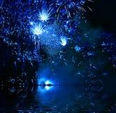 πυροτεχνήματα φεστιβάλ διανυσματική απεικόνιση