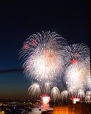 πυροτεχνήματα Στοκ εικόνες με δικαίωμα ελεύθερης χρήσης
