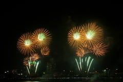 πυροτεχνήματα Στοκ Εικόνα