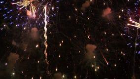 14 πυροτεχνήματα απόθεμα βίντεο