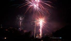 πυροτεχνήματα 1 στοκ εικόνες με δικαίωμα ελεύθερης χρήσης