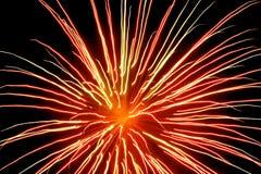 7 πυροτεχνήματα στοκ φωτογραφία
