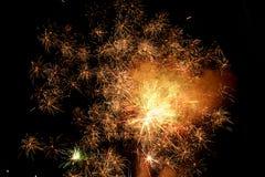8 πυροτεχνήματα στοκ φωτογραφίες