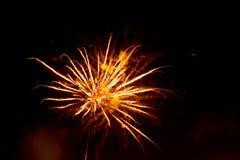 9 πυροτεχνήματα στοκ εικόνα