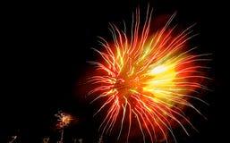 11 πυροτεχνήματα στοκ εικόνες