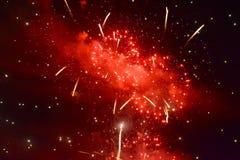 5 πυροτεχνήματα Στοκ φωτογραφίες με δικαίωμα ελεύθερης χρήσης