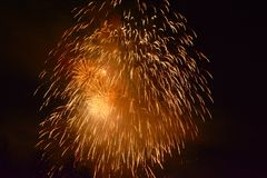 6 πυροτεχνήματα Στοκ Εικόνα