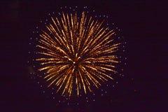 3 πυροτεχνήματα Στοκ εικόνα με δικαίωμα ελεύθερης χρήσης