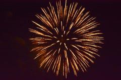 4 πυροτεχνήματα Στοκ Φωτογραφία