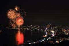 Πυροτεχνήματα colorsful Στοκ Φωτογραφίες