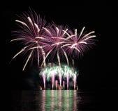 Πυροτεχνήματα - Ignis Brunensis Στοκ Εικόνα